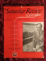 SATURDAY REVIEW July 1 1939 CARL CARMER VINCENT SHEEHAN MARGARET CULKIN BANNING