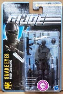 "G.I. Joe Pursuit of Cobra: Snake Eyes Ninja Commando (No. 1101) 3.75"" Figure"