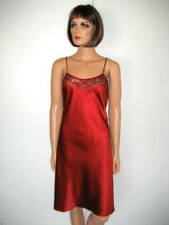 MARJOLAINE NUISETTE rouge taille 36 LEVANA 98% SOIE red BABYDOLL size XS