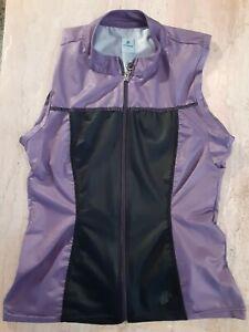 "Women's cycling PRO Wind Vest, ""Hincapie"" brand."