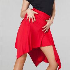 Women Lady Ballroom Latin Salsa Tango Dance Skirt Skate Wrap Scarf Dancewear