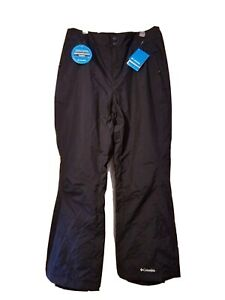 NEW WITH TAG COLUMBIA SNOW SKI WOMAN PANT BLACK SIZE 3X WATERPROOF FABRIC