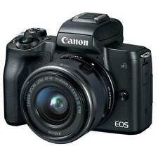 Canon EOS M50 24.1MP Mirrorless with 15-45mm STM Lens-Black [PRISTINE QUALITY]