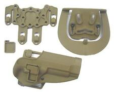 FONDINA SOFTAIR RIGIDA SERPA CQC PLUS M92 TAN  HM9T airsoft holster m9
