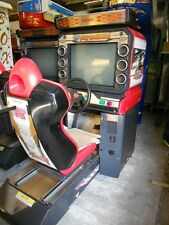 NAMCO MAXIMUM TUNE 3  SINGLE SIT DOWN DRIVING MACHINE ,WORKING