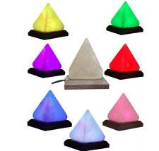 Natural ionisant de l'Himalaya cristal de Roche Sel Lampe USB DEL Multi Couleur ...