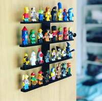 Acrylic Wall mount Display for LEGO Minifigures