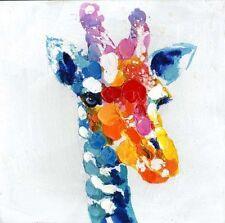 Unbranded Canvas Giraffe Decorative Posters & Prints