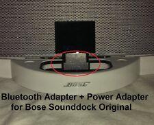 A2DP Bluetooth Music Receiver + Power Adaptor for Bose SoundDock I speaker
