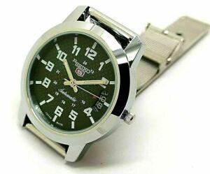 seiko 5 automatic men's steel green dial 6309 vintage japan watch run