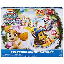 12- O) Spin Master Paw Patrouille Calendrier D' Avent
