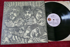 Jethro Tull Stand Up 1969 RARE 1st Pressing UK Island Pink Eye Pop up Sleeve EX