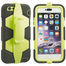 Griffin Survivor All Terrain Case Cover for iPhone 6Plus / 6SPlus Olive Green