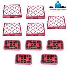 5 Hepa-Mikrofilter + 5 Kohle-Filter Electrolux D 820 Lux 1 Royal, Classic