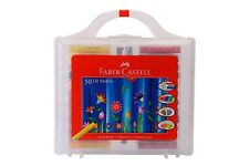 Faber-castell Oil Pastels Set of 50 Easy to Pack and Carry Colour Tool Box
