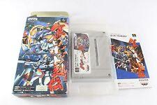 Snes Super Nintendo Famicom Battle Robot Retsuden Game JAP NTSC