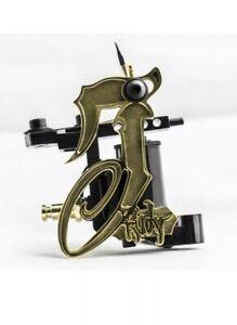 Jack Rudy Fine Single Liner Tattoo Machine HM Signature Series Black/Brass
