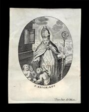 SANTINO PERGAMENA 1600/1700 S. NICOLA DI BARI  jacob. de man