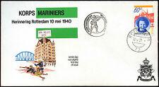Netherlands 1980 Marine Corps, Korps Mariniers Cover #C40275