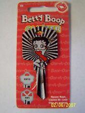 """Betty Boop """"Glitter"""" Kwikset KW1/KW10 House Key Blank / New"""