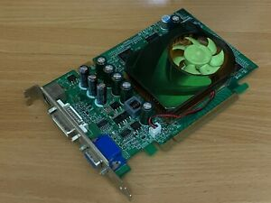 EVGA GeForce 7600GT DirectX 9 256-P2-N615-TX 256MB 128-Bit GDDR3 PCI Express x16