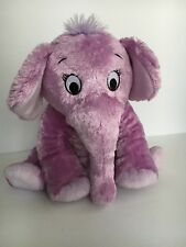 The Nose Book PURPLE ELEPHANT Plush Kohl's Cares for Kids Stuffed Animal Toy 12""