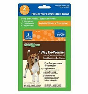 Sentry HC WormX Plus Dog Dewormer (Round/Hook/Tapeworm) Dog
