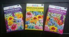 Lot Of 3 Boxes Of Wildflower Seeds Non Gmo