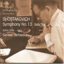 "Saks / Schwartz - Shostakovich: Symphony No. 13 ""Babi Yar"" CD Near mint"