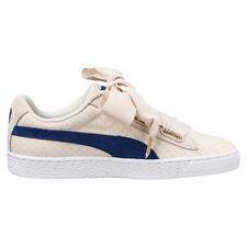 Scarpe Puma Basket Heart Denim Oatmeal Sneakers Fiocco Cara Delevingne Donna 40 8000000434739