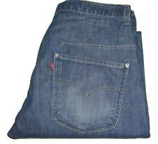 Mens LEVI'S Engineered Twisted Dark Blue Denim Jeans W30 L32