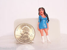 "New 1- Lil Homies Series # 12 LADY GO GO Figure Figurine 1.75"" Homie"