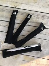 Triton Boats LOT OF 4 Ink Pen Silver with Black BLUE INK NEW HTF Fising Stuff