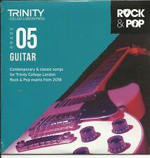 Trinity Rock & Pop CD Exam Guitar Grade 5 Five 2018 Backing Tracks