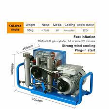 110v 4500psi Air Compressor For Scuba Pcp Paintball Tanks Refill Auto Starstop