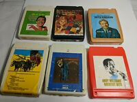 Rare 8 Track Tapes lot: Don Williams Skitch Henderson Andy Williams Wes Pierce