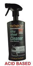 THE DOGS ACID WHEEL CLEANER 500ml FOR ACID BASED ALLOY WHEEL CLEANING