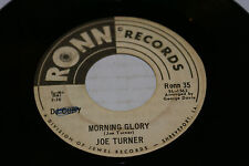 Big Joe Turner Night Time Is The Right Time Morning Glory 45 Ronn 35 Promo RARE!