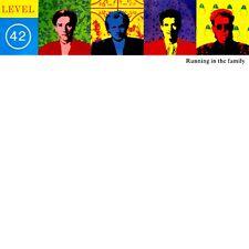 """12"""" - LEVEL 42 - RUNNING IN THE FAMILY (DISCO) SPANISH EDIT. 1987, MINT, LISTEN"""