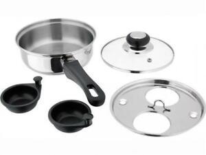 Judge Kitchen Essentials- Egg Poacher - 2 Hole Egg Poacher All Hob Types HP92