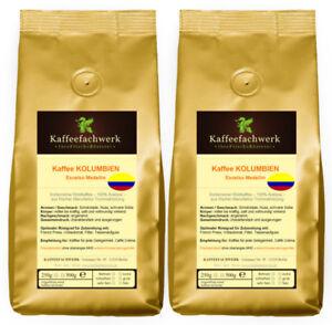 Kolumbien Kaffee Medellin 2x500g ♥ Kaffee Bohnen 1kg frisch geröstet