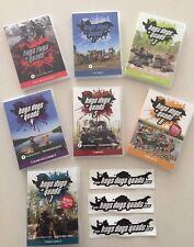 Pig Hunting DVD 7 PACK Hogs Dogs Quads 1,2,3,4,5,6,7 -Includes Bonus fishing DVD