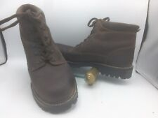"""Timberland Mens size 15 M 80074 6"""" Ankle Boots Shoes Brown Leather"""