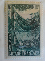 French Guiana 1939-40 Stamp 10c MNH Stamp Rare Antique StampBook1-77