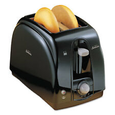 SUNBEAM PRODUCTS, INC. Extra Wide Slot Toaster, 2-Slice, 7 x 11 1/2 x 7.8, Black