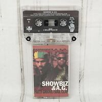 Showbiz & AG Party Groove Soul Clap Cassette Hip Hop Rap Showbiz AG
