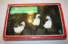 Christmas Around The World 10 Winter Geese Christmas Lights! Works