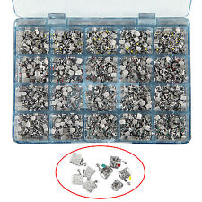 1000pc Dental Orthodontic Metal Bracket Brace Monoblock Mini Roth.022 345 Hooks