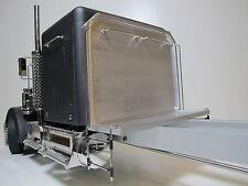 Custom Tamiya 1/14 Semi Tractor King Knight Hauler Rear headache Aluminum Rack