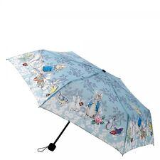Official Beatrix Potter PETER RABBIT Blue Umbrella Vintage Style
